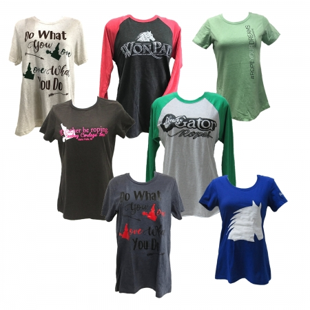 Womens Printed Tees